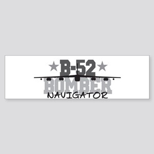 B-52 Aviation Navigator Bumper Sticker