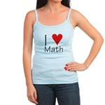 I Love Math! Jr. Spaghetti Tank