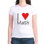 I Love Math! Jr. Ringer T-Shirt