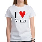 I Love Math! Women's T-Shirt