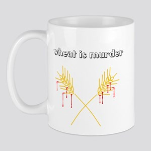 Wheat Is Murder Mug