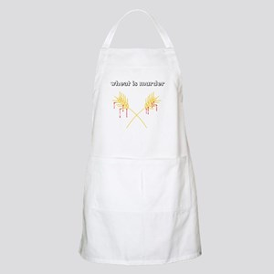 Wheat Is Murder BBQ Apron