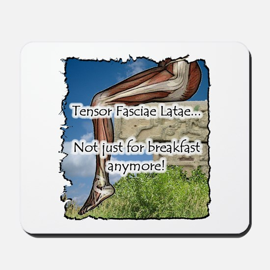 TFL Not for breakfast anymore Mousepad