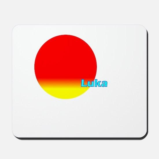 Luka Mousepad