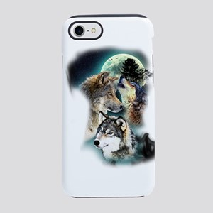 Wolf Wolves Moon iPhone 8/7 Tough Case