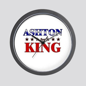 ASHTON for king Wall Clock