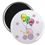 Its A Baby Girl Magnet