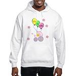 Its A Baby Girl Hooded Sweatshirt