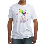 Its A Baby Girl Fitted T-Shirt