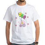 Its A Baby Girl White T-Shirt