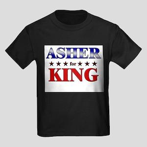 ASHER for king Kids Dark T-Shirt