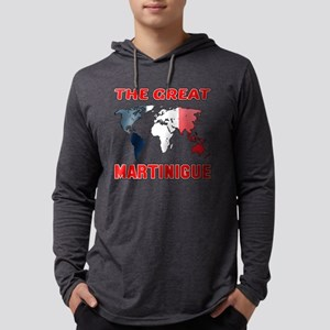 The Great Martinigue Designs Mens Hooded Shirt