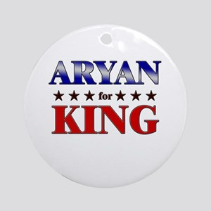 ARYAN for king Ornament (Round)