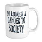 Danger To Society Large Coffee Mug