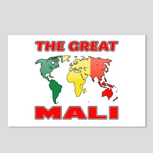 The Great Mali Designs Postcards (Package of 8)