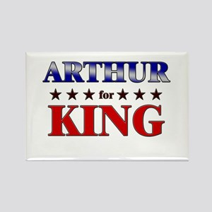 ARTHUR for king Rectangle Magnet