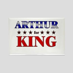 ARTHUR for king Rectangle Magnet