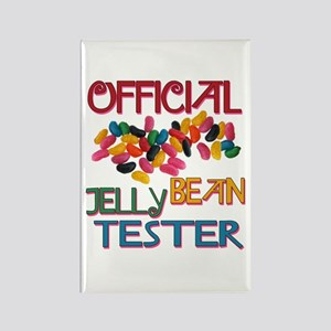 Jelly Bean Tester Rectangle Magnet