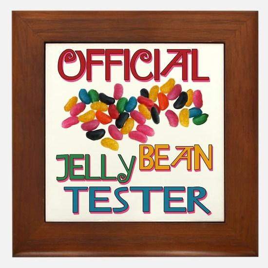 Jelly Bean Tester Framed Tile