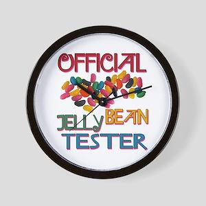 Jelly Bean Tester Wall Clock