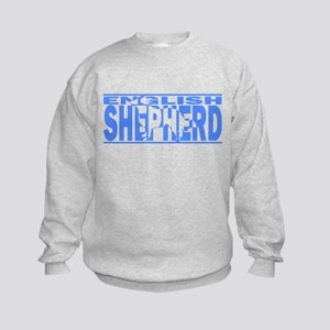 Hidden English Shepherd Kids Sweatshirt