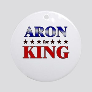 ARON for king Ornament (Round)