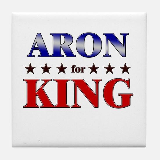 ARON for king Tile Coaster