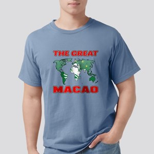 The Great Macau Designs Mens Comfort Colors Shirt