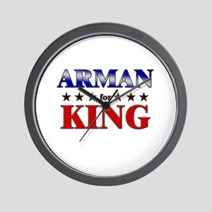 ARMAN for king Wall Clock