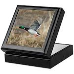 Mallard Flying Keepsake Box