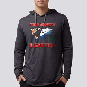 The Great Lesotho Designs Mens Hooded Shirt