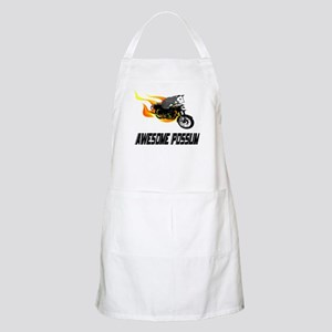 Flaming Awesome Possum BBQ Apron