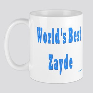 World's Best Zayde Mug