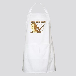 Yes We Can (vote Obama) BBQ Apron
