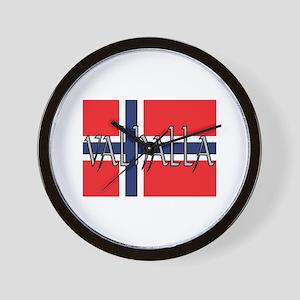 Valhalla Norway Wall Clock