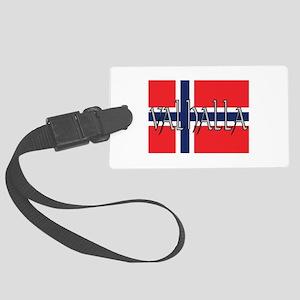 Valhalla Norway Large Luggage Tag