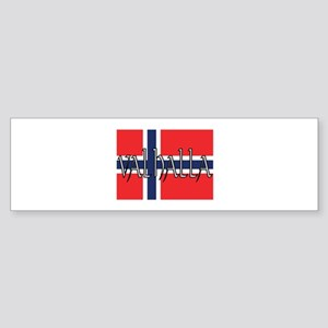 Valhalla Norway Bumper Sticker