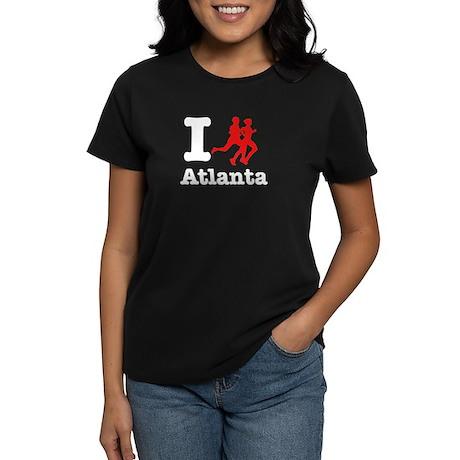 I run Atlanta Women's Dark T-Shirt