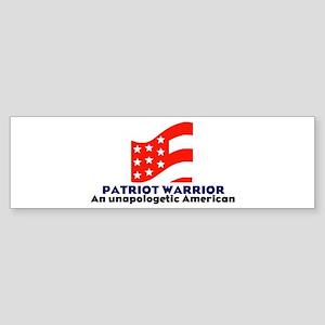 Patriot Warrior Logo Bumper Sticker