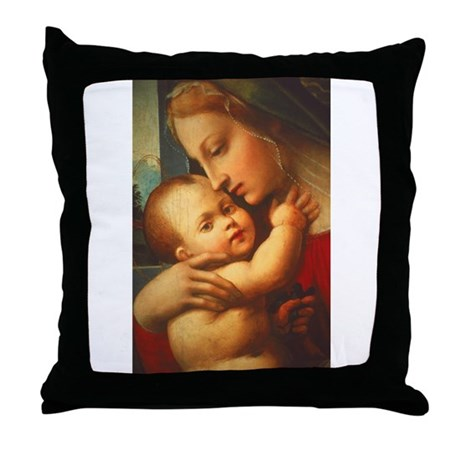 Madonna #3 Throw Pillow