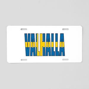 Valhalla Sweden Aluminum License Plate