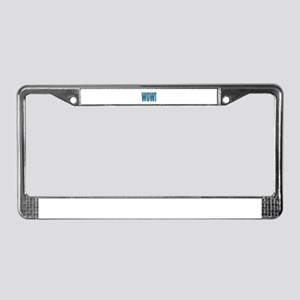 Wow MLG Blue License Plate Frame
