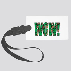 Wow MLG green Large Luggage Tag