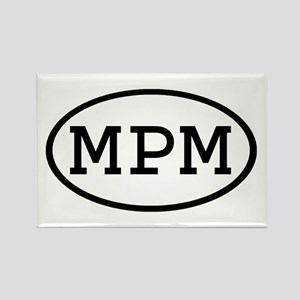 MPM Oval Rectangle Magnet