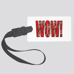 Wow MLG Red Large Luggage Tag