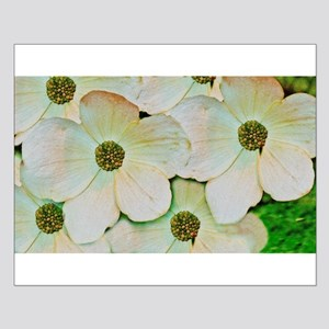 Wild White Blossoms Posters