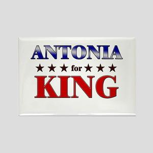 ANTONIA for king Rectangle Magnet