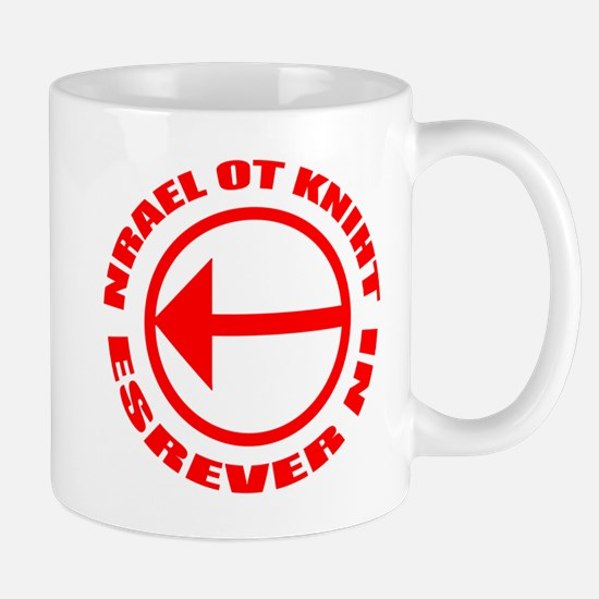 Learn To Think in Reverse Mug