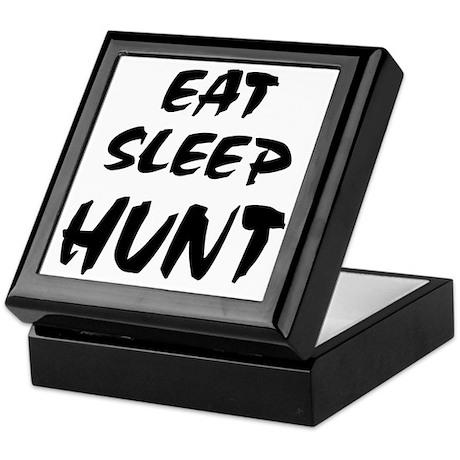 Eat Sleep Hunt Keepsake Box