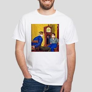 Clock White T-Shirt